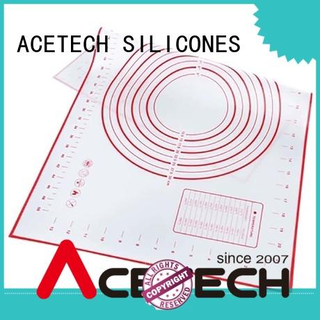 ACETECH food safe custom silicone mats online for macarons