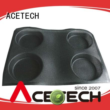 ACETECH good quality mini silicone molds clean for bread