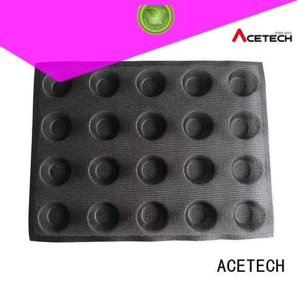 ACETECH custommade silicone molds cheap for muffin