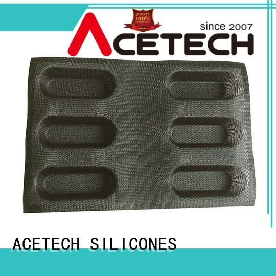 ACETECH good quality silicone muffin molds cake for bread