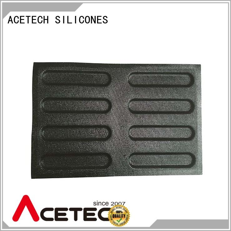 ACETECH subway silicone cupcake molds manufacturer for cakes