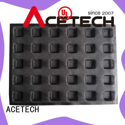 ACETECH good quality silicone dessert mould for muffin