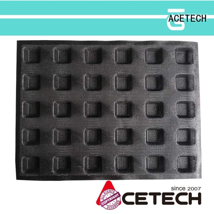 ACETECH cup silicone baking molds for muffin