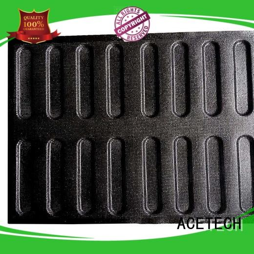 silicone dessert molds perforated for cakes ACETECH