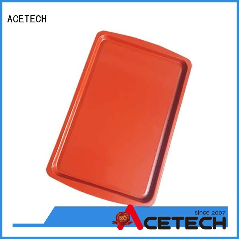ACETECH colorful silicone baking tray supplier for cookie