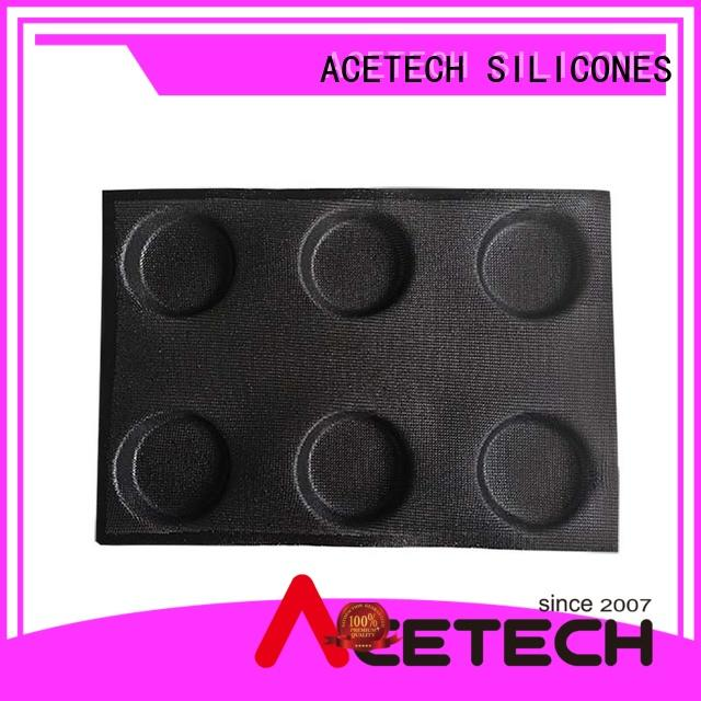 ACETECH food safe silicone dessert mould wholesale for muffin