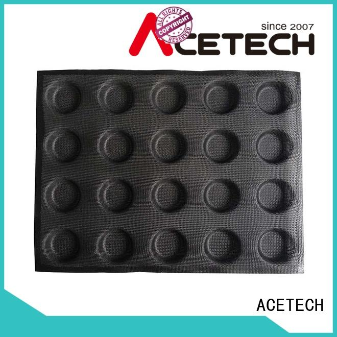 ACETECH ecofriendly silicone pastry molds manufacturer for cakes