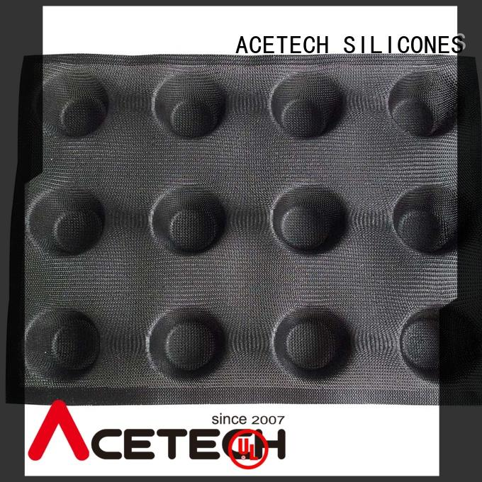 ACETECH square silicone cookie molds manufacturer for muffin