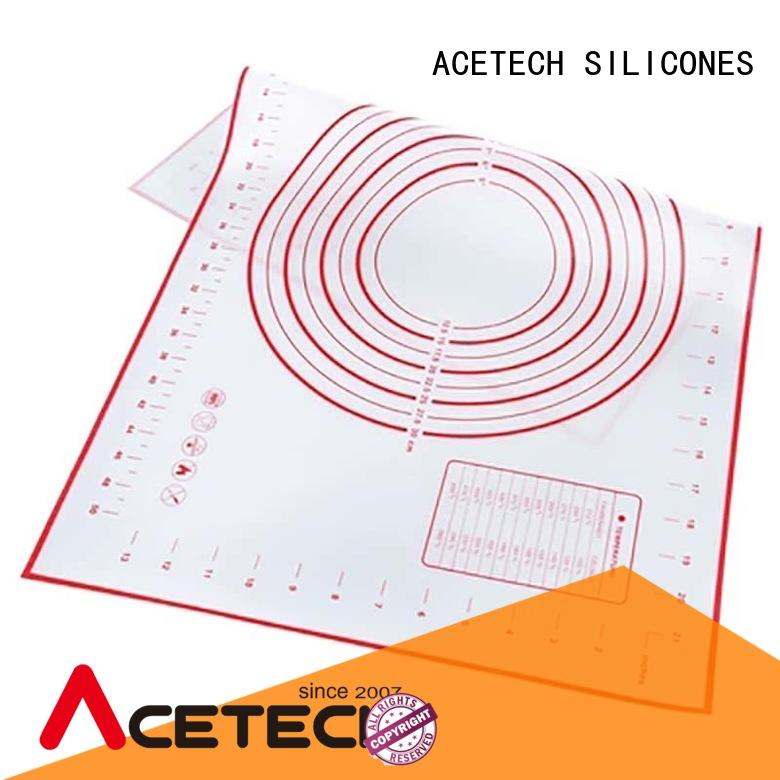ACETECH pastry custom silicone mats easy to clean for macarons