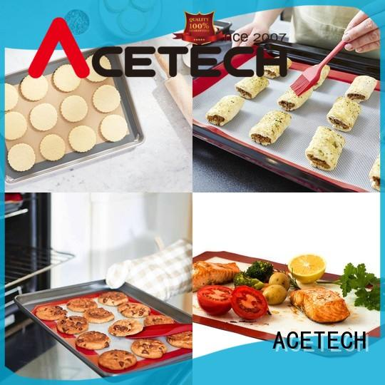 ACETECH mat silicone pastry mat factory price for cooking