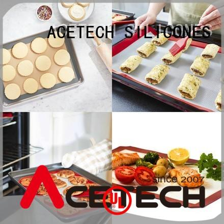 ACETECH foldable non stick silicone baking mat factory price for bread