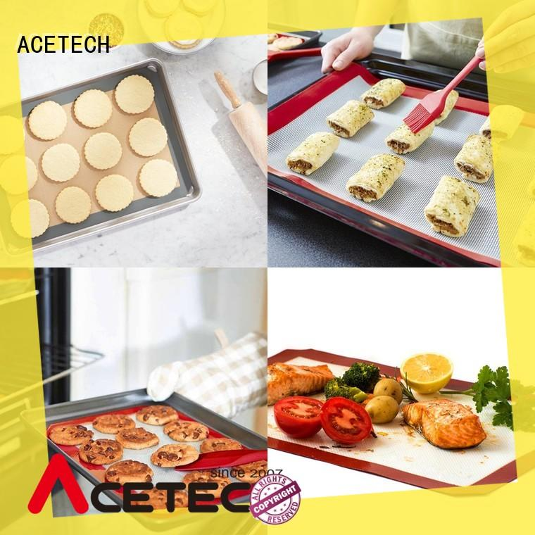 ACETECH silicone silicone baking mat easy to clean for macarons
