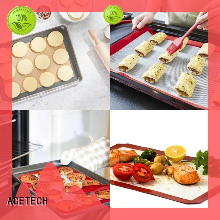 product custom silicone mats printing for cookie ACETECH