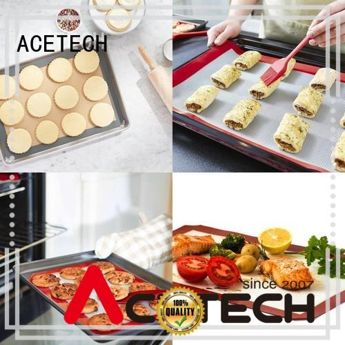 eco-friendly non stick silicone baking mat size online for macarons