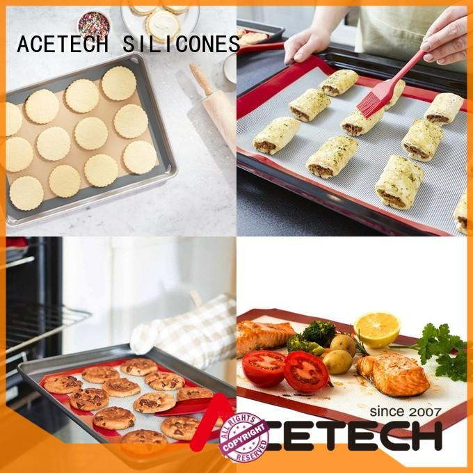 soft silicone pastry mat kithchen factory price for cookie