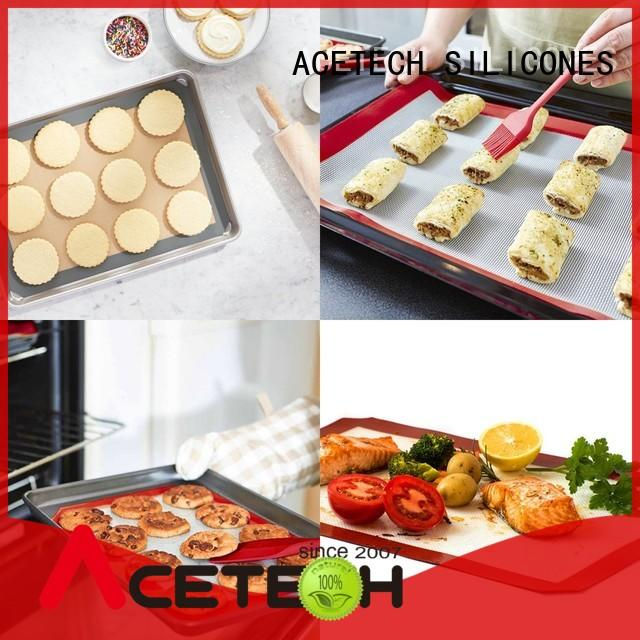perfect custom silicone mats factory price for macarons ACETECH