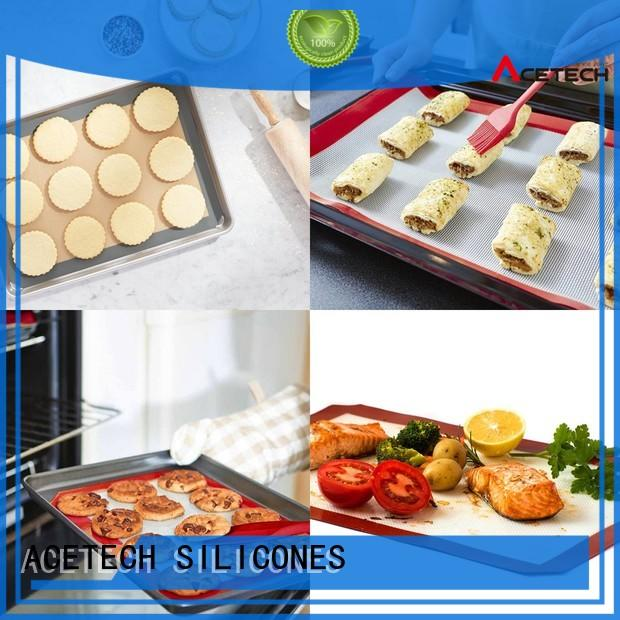 macarons product size kneading silicone baking mat ACETECH