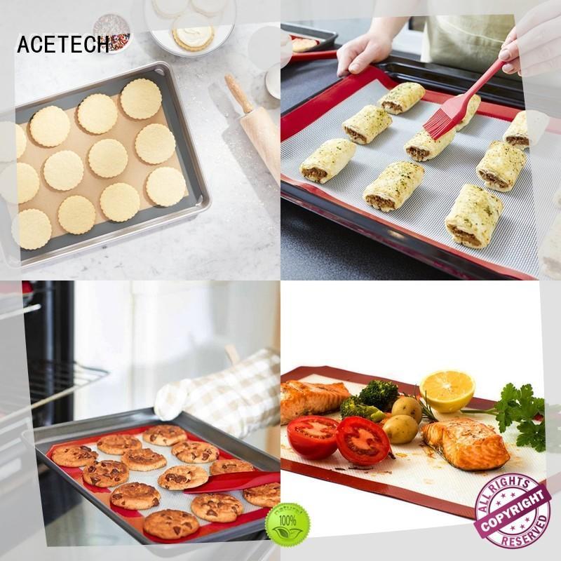 silicone macaron baking mat perfect bakeware ACETECH Brand silicone baking mat