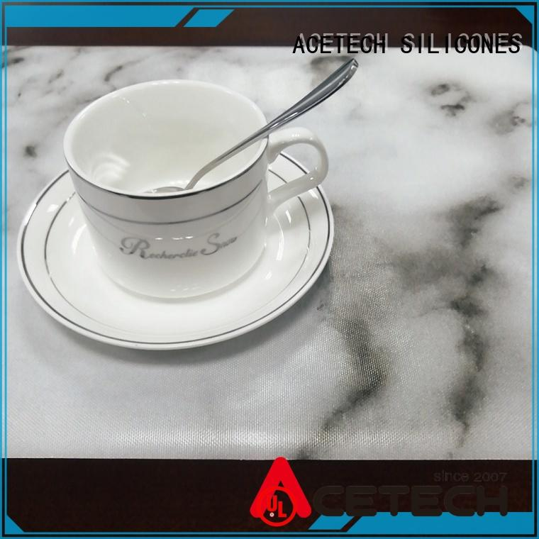 oil resistance silicone placemats dining factory price for kitchen