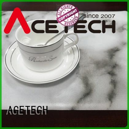 ACETECH soft silicone placemats on sale for table
