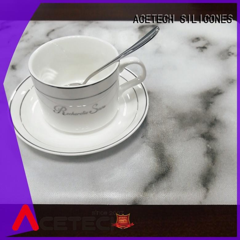 ACETECH water proof silicone placemat baby supplier for table