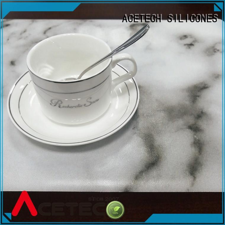 ACETECH water proof silicone placemats factory price for kitchen