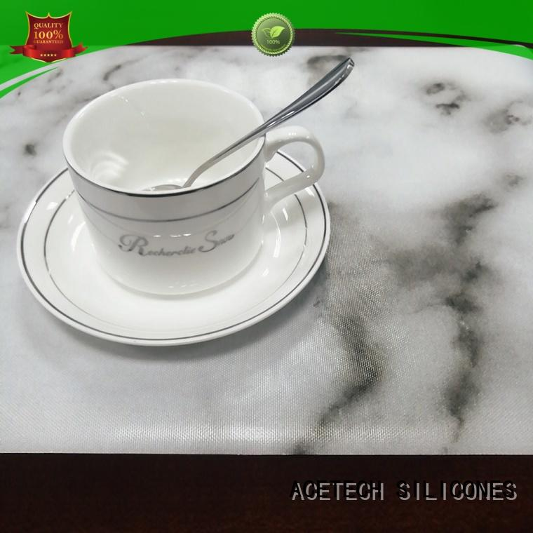 decoration Silicone table mat supplier for kitchen