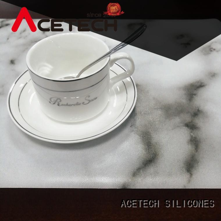 ACETECH kitchen silicone placemat baby on sale for dining table