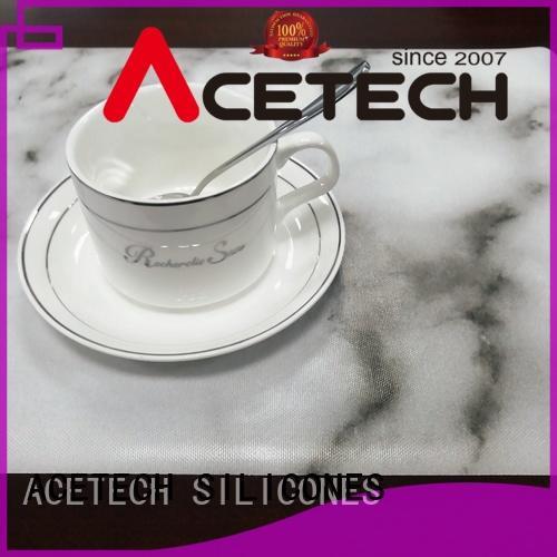 ACETECH oil resistance silicone placemats wholesale for kitchen