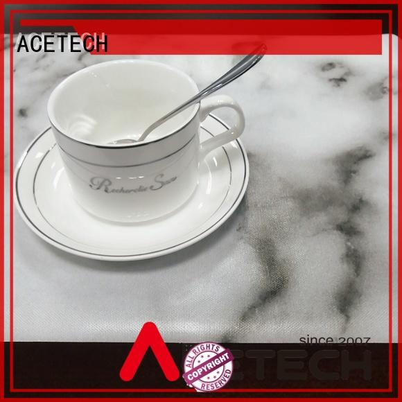 oil resistance silicone placemats telfon supplier for table
